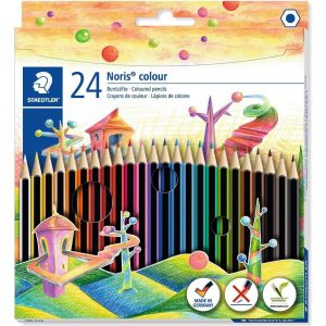 24 colouring pencils from Staedtler